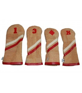 ROSA HEADCOVER - RED