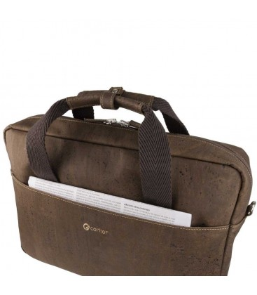 VEGAN BRIEFCASE FOR MEN
