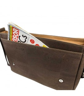 VEGAN MESSENGER BAG FOR MEN