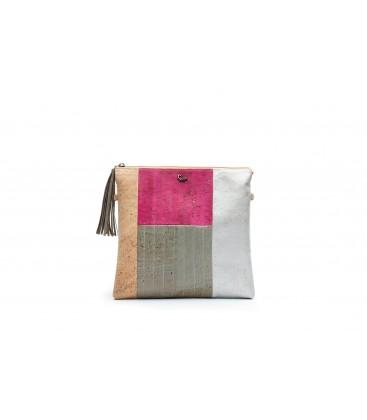 Mosaic Shoulder Bag - em cortiça by GlamCork